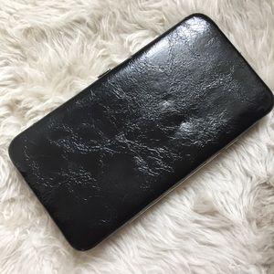 Forever 21 Black Textured Wallet